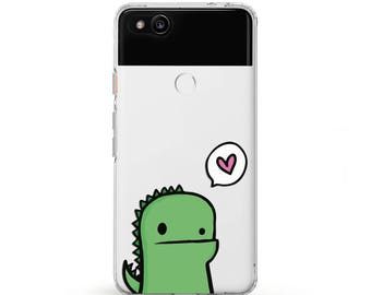 dinosaur case pixel case clear cute dinosaur Case for Samsung s8 dinosaur love print google pixel xl little dinosaur kawaii phone case