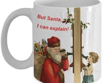 But Santa, I Can Explain Christmas Mug