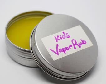 Kids' Vapor Rub, Baby, Children, Essential Oils, All-Natural, Sinus Relief, Congestion Relief