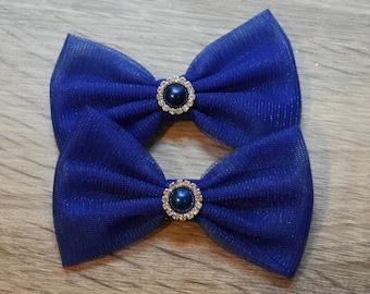 Bow Cat ' RoyalBlue '