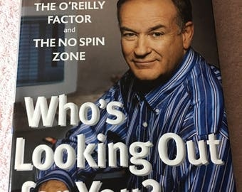 Who's Looking Out For You? by Bill O'Reilly (2003)  First Edition  Hardcover with jacket