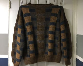 RARE Alpaca wool sweater. Vintage