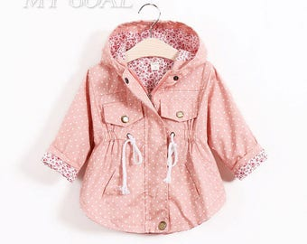 Baby Girl Floral Coat