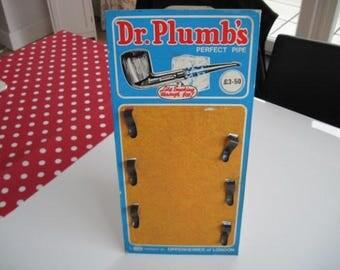 Dr Plumbs shop display card