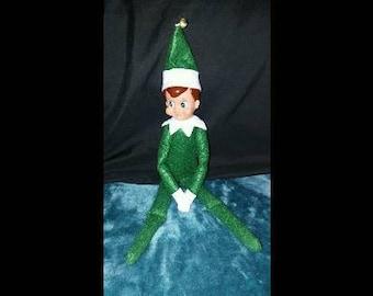 Elf on the Shelf Green Boy