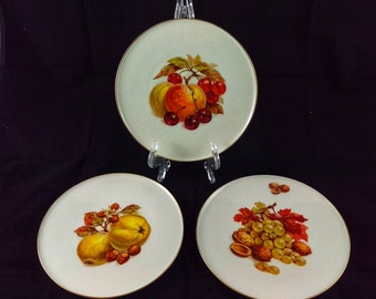 Vintage Imperial Crown Company Dish Set (3)