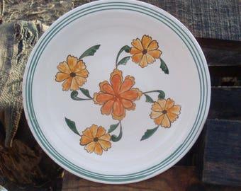 Traditional Ukraine/Vintage style, Ceramic Plate/Plates, Ceramics and Pottery Plate / Perfect gift / Handmade / Folk Art