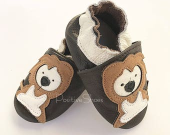 Baby Soft Sole Leather Shoes Infant Moccasins Baby Boy Lion Shoes Toddler First Walker non toxic