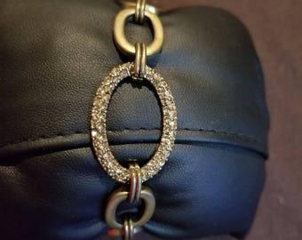 Vintage Givenchy Rhinestone Bracelet
