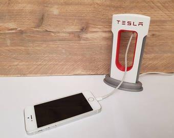 SAME DAY SHIPPING! | Tesla charging station | Tesla supercharger phone charger | Iphone charger  |  Android Tesla | Iphone | Tesla charger