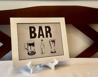 The Bar - Print