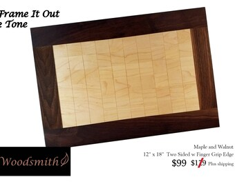 Frame It Out 2 Tone Cutting Board