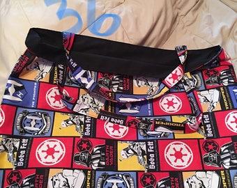 Handmade Reversible Star Wars Bag
