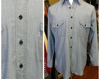 Vintage Levi's Chambray Shirt