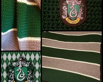Slytherin Blanket