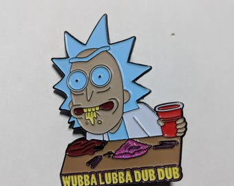 Rick and Morty Wubba Lubba Dub Dub Pin