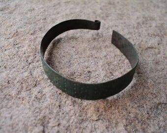 Ancient children's bronze bracelet made of bronze Viking from Ukraine c.900 - 1300 AD - Absolutely authentic relic of Vikings