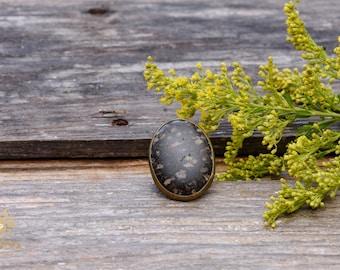 Jasper & Bronze Ring