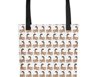 Maine Coon Cat Tote