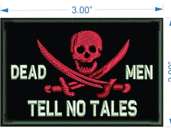Jolly Roger 3x2 morale patch