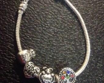 Pandora charm bracelet