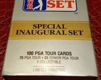 1990 Pro Set PGA Tour Special Inaugural Set Box (100 Cards