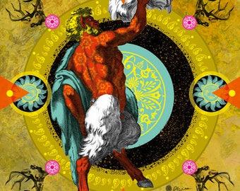 Wildlife, Digital art, Digital Art, icon, print, Illustration, frame for frame, decorative frame, creative gift