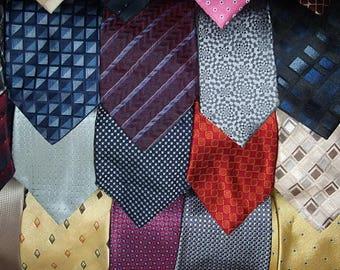 Freeshipping,Tie/Silk tie/Vintage Necktie tie,/Lot of20ties/Crafting,sewing/T8/