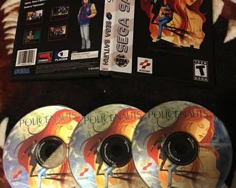 Sega Saturn Policenauts English Reproduction