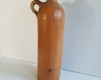 Victoria Brunnen Oberlahnstein German Stoneware Mineral Water Bottle Jug