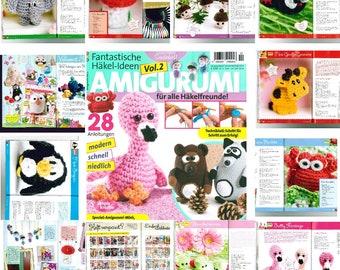 Amigurumi Magazine Pdf : Knitted amigurumi edibles knitting pattern knitting