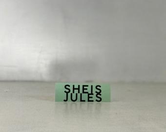 Sheisjules Sticker by JULES