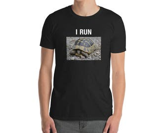 Funny I Run Turtle T-Shirt
