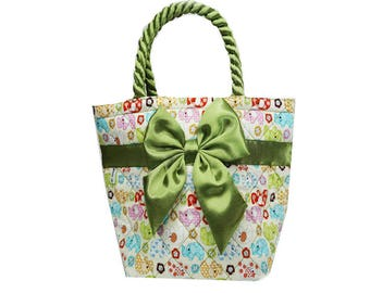 Fresh Green Bow Bag