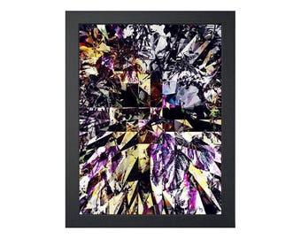 Georganic: Color Drain (Printable Art - Geometric - Instant Digital Download)
