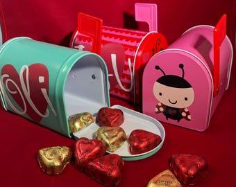 Valentineu0027s Day Gift   Personalized Valentineu0027s Day MAILBOX   Kids Valentineu0027s  Day Gifts   Valentineu0027s Day
