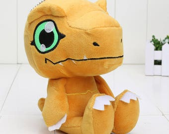 Digital Monster Agumon Digimon Dolls Cute Funny Soft