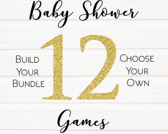 12 Pack Build Your Own Baby Shower Games, Baby Games Baby Shower Game, Porn Or Labor, Baby Shower Games, Baby Shower, Labour Or Lovin Games