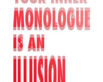 Your Inner Monologue is an Illusion