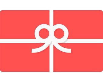 Gift Card- Slimeywhup Shop