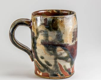 Small Stoneware Mug for Coffee or Tea