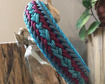 Ready to Ship!Adjustable  Paracord 550 Dog Collar