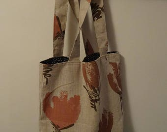 Canvas bag, tote bag, linen tote bag, shopping bag, shoppers bag, womens shopping bag
