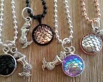 Mermaid pendants