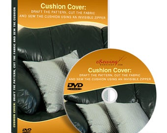 Cushion Cover Sewing Video Lesson on DVD