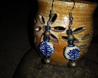 hand made upcycled earrings