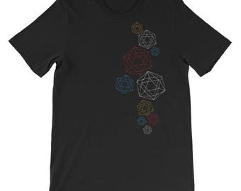 Clusters of Tetrahedrons -  Men's Short-Sleeve T-Shirt