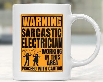 Coffee Mugs Electricians, Mug Electrician, Gift For Electrician, Gifts For Electrician Students, Gifts For Electricians, Mug Electricians,