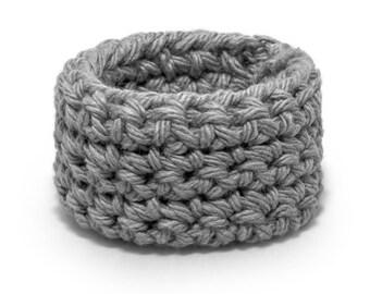 Crocheted toddler bracelet