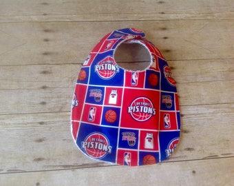 Detroit Pistons Infant Bib